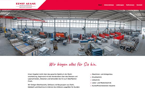 ERNST ADAMS Maschinenbau und Blechverarbeitung GmbH
